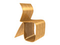 Modern Plywood Chair Stock Photos