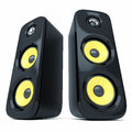 Modern power sound speakers Royalty Free Stock Photo