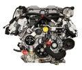 Modern powerful cars engine Royalty Free Stock Photo