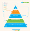 Modern Pyramid Chart