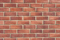 Modern red brick wall surface texture Royalty Free Stock Images