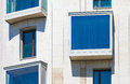 Modern residential building with apartments in budapest hungary Stock Photography