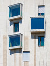 Modern residential building with apartments in budapest hungary Stock Photos