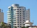 Modern residential building in itaim district são paulo brazil Royalty Free Stock Photo