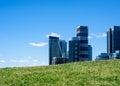 Modern residential condo development in Toronto, Ontario, Canada Royalty Free Stock Photo