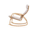 Modern rocking chair Royalty Free Stock Photo