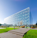 Modern school building exterior of a in zwolle netherlands in the x was chosen as of the year in the eastern Stock Photos