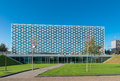 Modern school building exterior of a in zwolle netherlands in the x was chosen as of the year in the eastern Royalty Free Stock Image