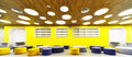 Modern school interior new look for Stock Photography