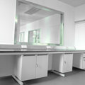 Modern science laboratory Royalty Free Stock Photo