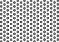 Modern seamless geometry pattern hexagon, black and white honeycomb abstract geometric background