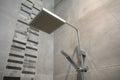 Modern shower head Royalty Free Stock Photo