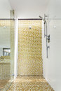Modern shower Royalty Free Stock Photo