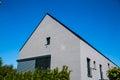 Modern single-family house, gray, Germany Royalty Free Stock Photo