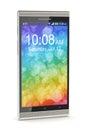Modern smartphone Royalty Free Stock Photo