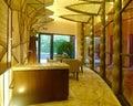Modern spa interior design Royalty Free Stock Photo