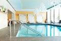 Modern SPA in the luxury hotel at ski resort