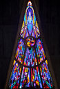 Modern stained glass Royalty Free Stock Photography