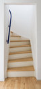 Modern stair of wood Royalty Free Stock Photo