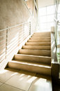 Modern staircase office building Royalty Free Stock Photography