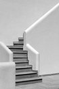 Modern stairs in greece architecture Stock Image
