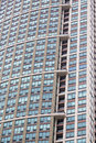 Modern stone building in chicago office tower illinois Stock Photography