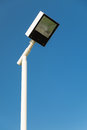 Modern street lamp Royalty Free Stock Photo