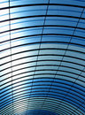 Modern structure ceiling made with steel and plastic materials italy Royalty Free Stock Images