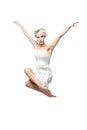 Modern style dancing girl Royalty Free Stock Photo