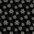 Modern stylish floral flower pattern
