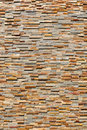 Modern Tan Brick Background Stock Photography