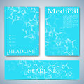 Modern template layout brochure, magazine, flyer, booklet, cover or report in A4 size for your design . Vector Illustration