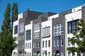 Modern terraced housing Royalty Free Stock Photo