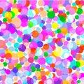 Background of the bright color confetti.