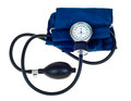 Modern tonometer for blood pressure measurement on a white background Royalty Free Stock Images