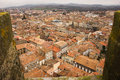 The modern town. Carcassonne. France Royalty Free Stock Photo