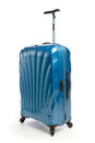 Modern travel suitcase Royalty Free Stock Images