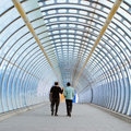 The modern tunnel Royalty Free Stock Photo