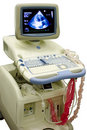 Modern ultrasound medical device Royalty Free Stock Image