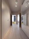 Modern Urban Contemporary Scandinavian hallway