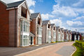 Modern urban housing in the united kingdom Stock Photography