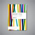 Modern Vector abstract brochure design template
