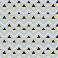 Modern Vector seamless pattern. Abstract background with geometric and zig zag line.
