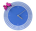 Modern Wall Clock Stock Images