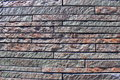 Modern wall pattern by of bricks sunlight Stock Images