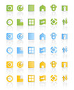 Modern web icon set Stock Photography