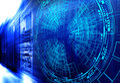 Modern web network and internet telecommunication technology, big data storage  cloud computing computer service busines Royalty Free Stock Photo
