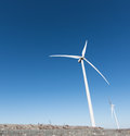 Modern Windmill Turbine, Wind Power, Green Energy Royalty Free Stock Photo