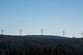 Modern Windmill Turbine, Wind Power, Green Energy Royalty Free Stock Photo