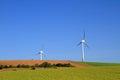 Modern windmills Royalty Free Stock Photo